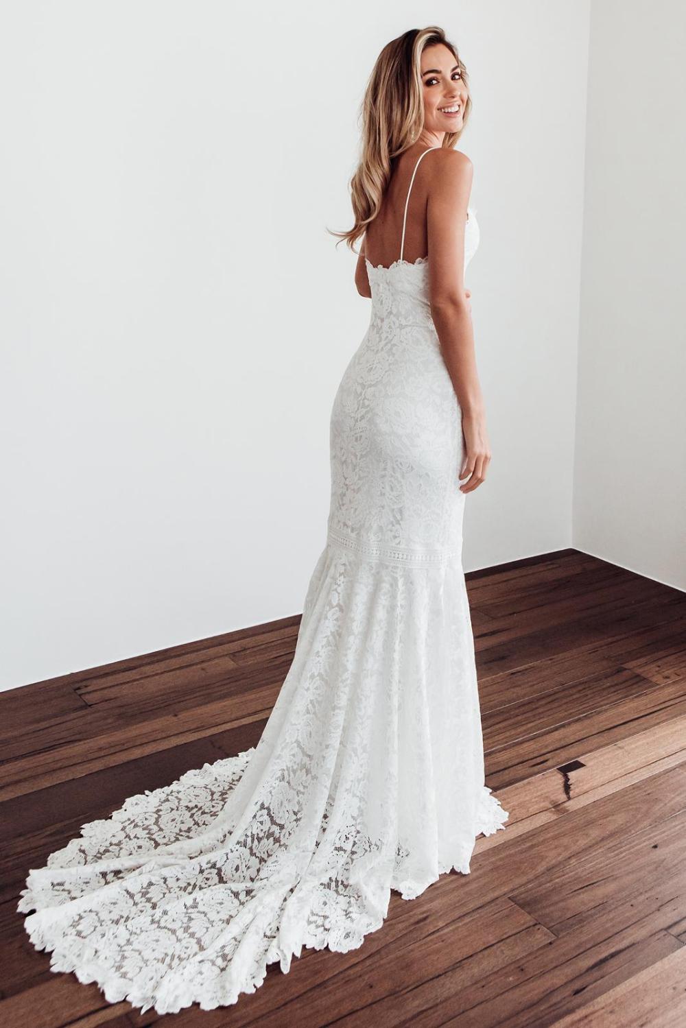 Hart Gown | Lace Wedding Dress | Grace Loves Lace