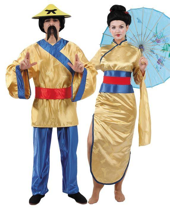 Disfraces de #Chinos