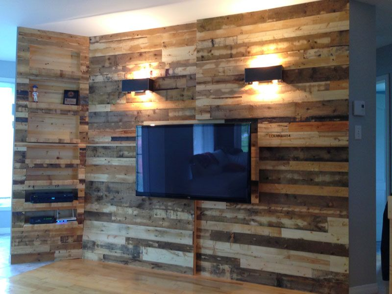 Mur Planche De Bois  Ides Dcoration Intrieure