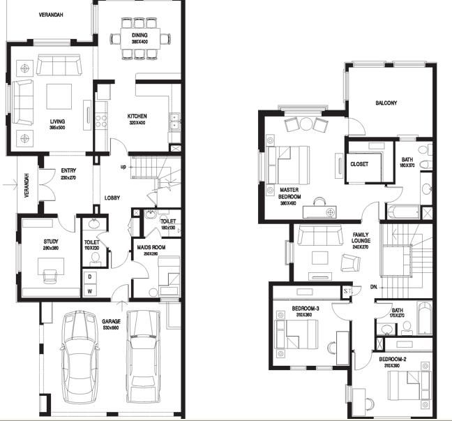 The springs the meadows dubai floor plans 4e 4m house for Dubai house floor plans