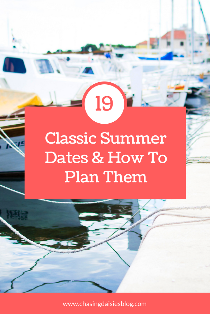 Best summer date ideas trip dates
