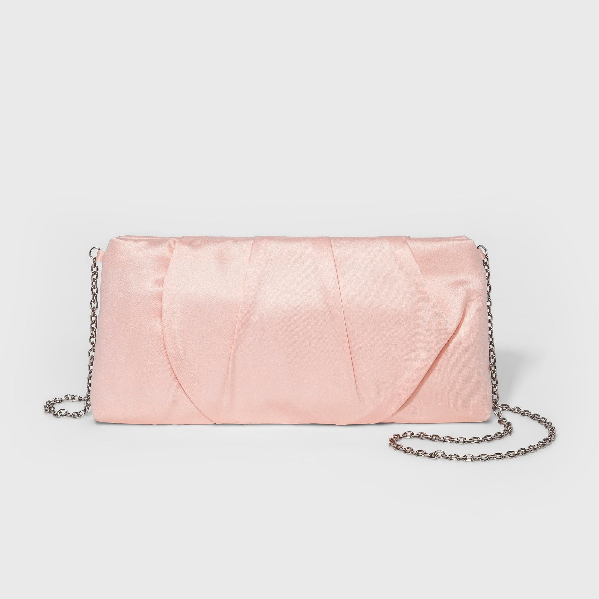 f1dc4673a607 Women s Estee  amp  Lilly Satin Pleat Zip Clutch - Blush Blushes
