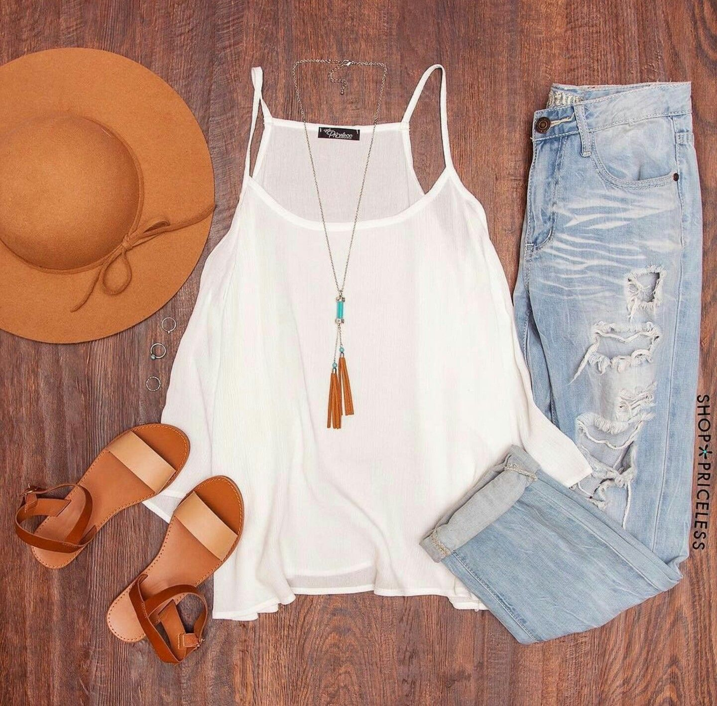 Outfits con jeans rasgados clothes summer and ootd
