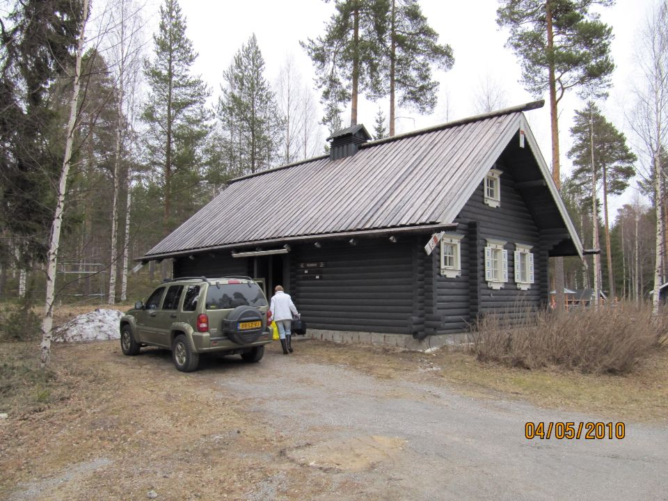 Finland 2010 with jeep KJ. 3560 km with 1560 offroad