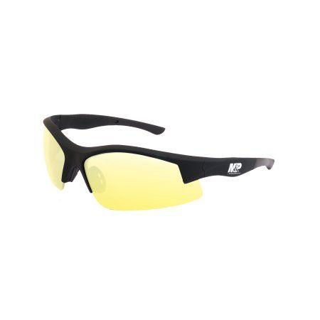 Amber Anti-Fog Lens Radians M/&P Shooting Glasses Black Half Frame