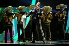 Pepe Aguilar Latin Grammy Awards, MGM Grand Garden Arena, Las Vegas, Nev. November 20, 2014 (Chris Pizzello / Invision / AP)