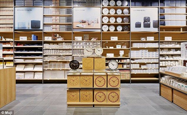 japanus giant homemaker store muji opens its first australia the galleries daily mail online