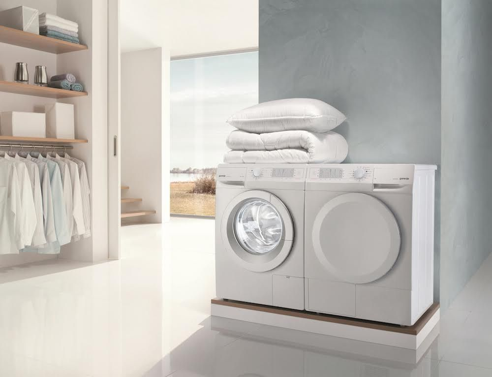 Gorenje S Sensocare Technology Offers A Range Of Settings That Will Perfectly Match All Your Laundry N Interior Architecture Design Laundry European Appliances