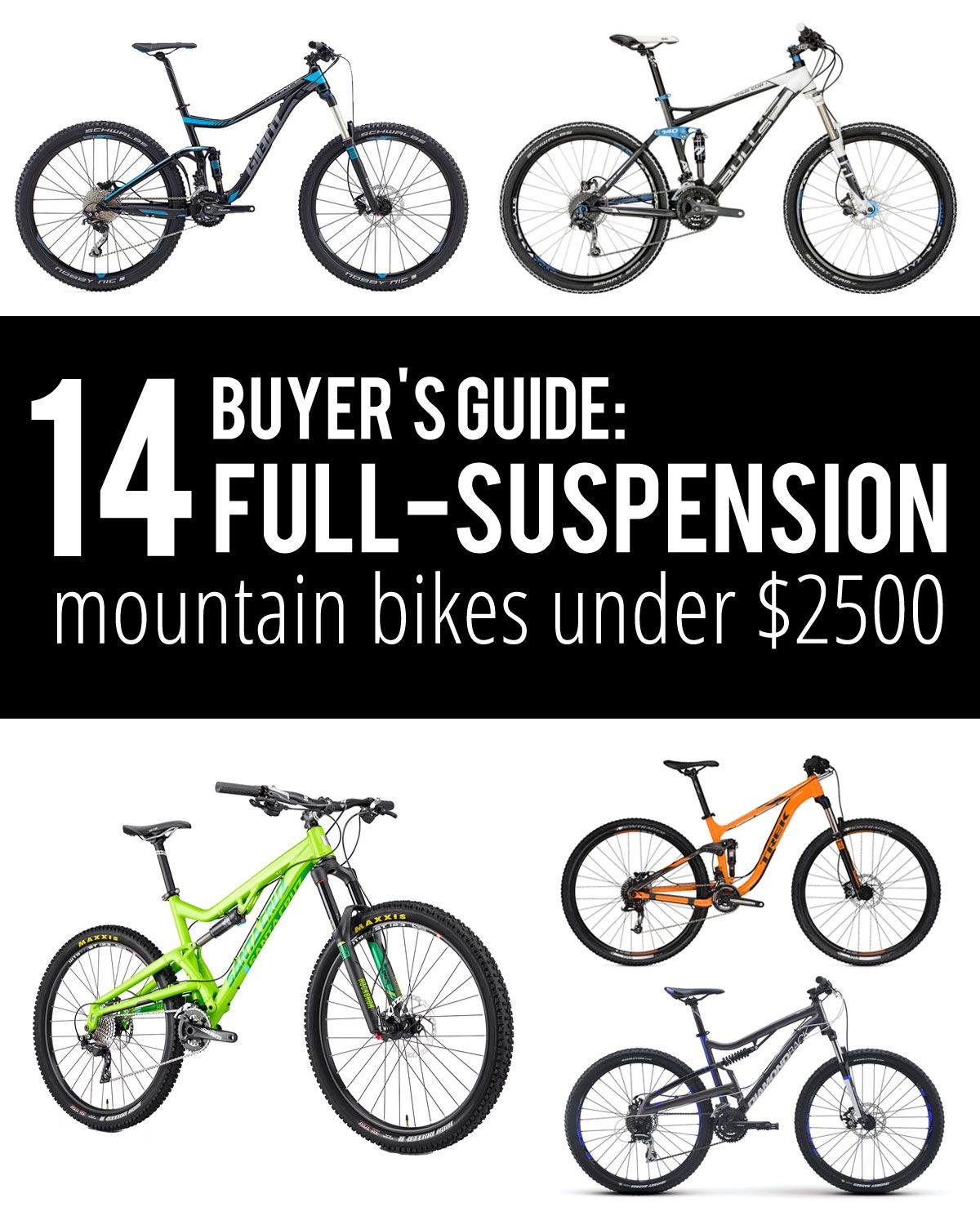 Buyer S Guide Budget Full Suspension Mountain Bikes Mountain