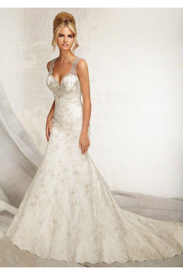 vestidos-de-novia-con-apliques-de-bordados-y-breteles-elegantes.jpg ...