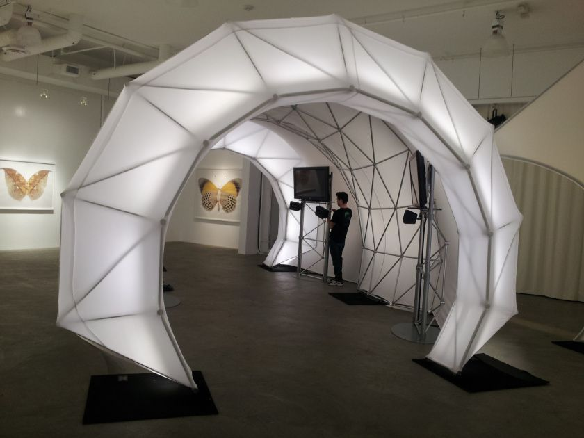 Inflatable Tunnels Google Search Design Fabric Structure Parametric Design