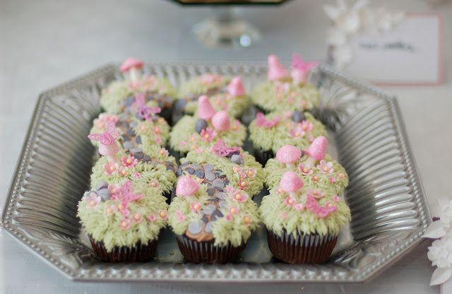 fairy garden cupcakes by Tradewind Tiaras