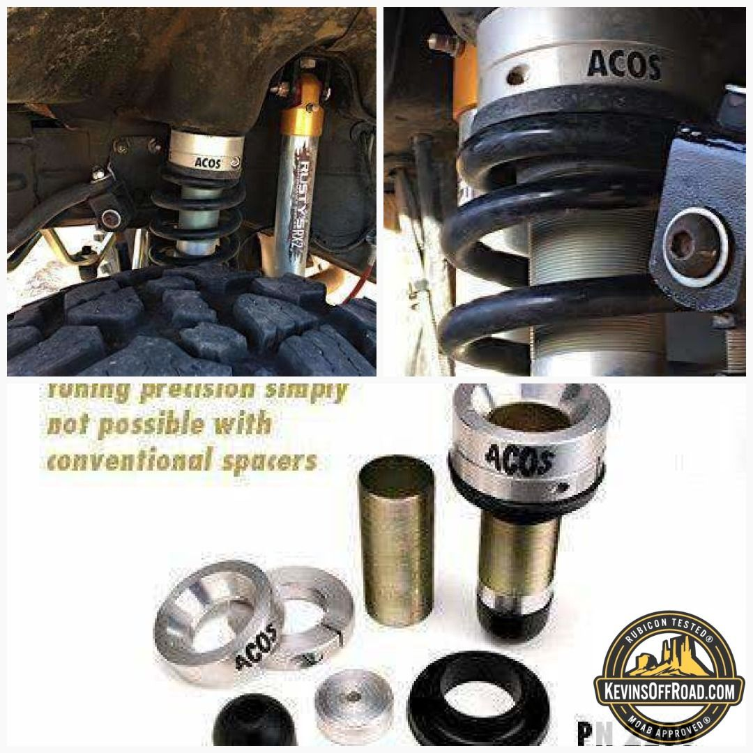 Jks Adjustable Coil Over Spacer Acos Xj Zj Tj Front Free 48 State Shipping Jeep Parts Spacer Overlanding