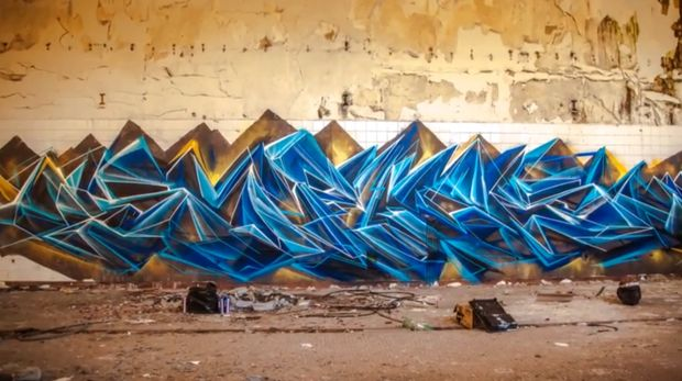 Hyperlapse Shows One Of The Best Graffiti Artists In The World At