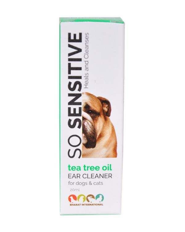 Tea Tree Oil Dog Ear Cleaner 20ml Tea Tree Oil Dogs Tea Tree Oil Dog Ear Cleaner