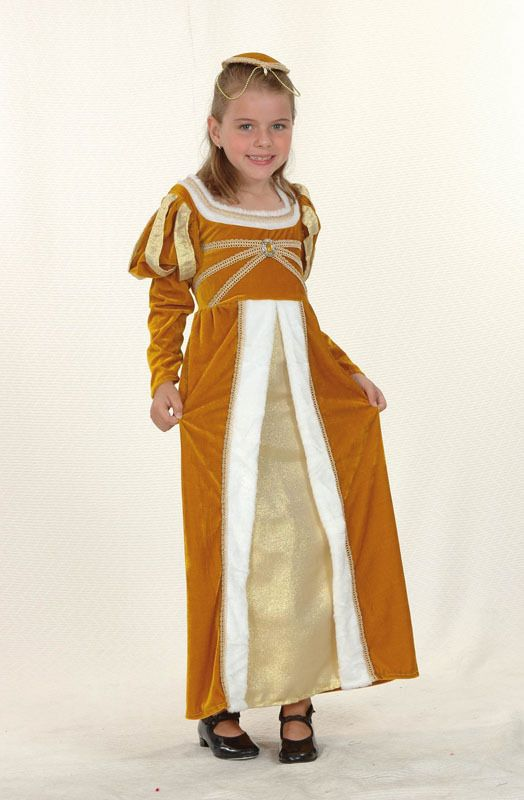 Medivel Maiden Girls Fancy Dress Costume Medium Size Age 7-9 Years World Book