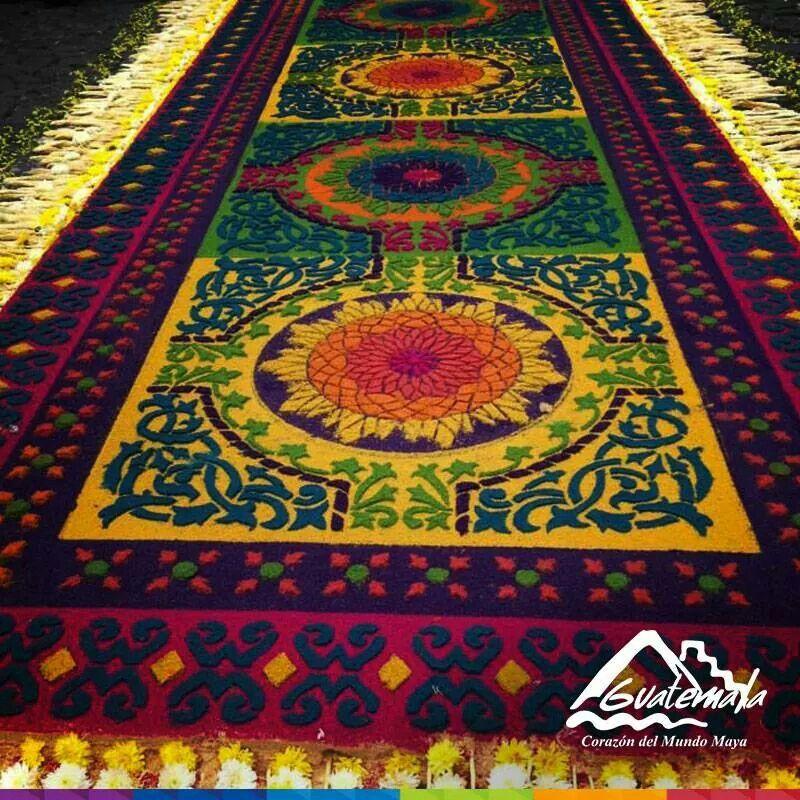 Alfombra de aserrin antigua guatemala alfombras aserrin for Alfombras de antigua