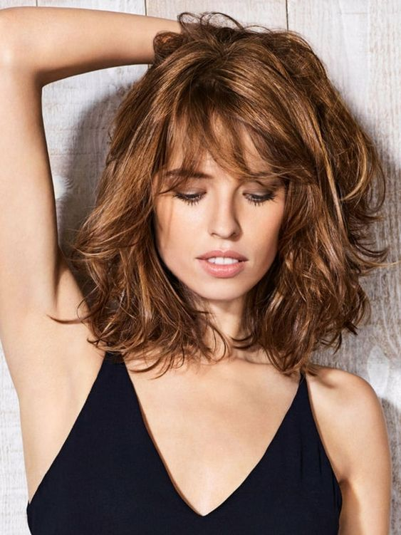 ▷ 1001 + Ideas de cortes de pelo con flequillo para cada tipo de rostro