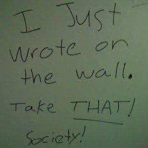 Bathroom Wall Writing the 50 best bathroom graffiti pictures in internet history
