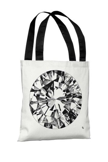 Oliver Gal by One Bella Casa Stud Tote Bag