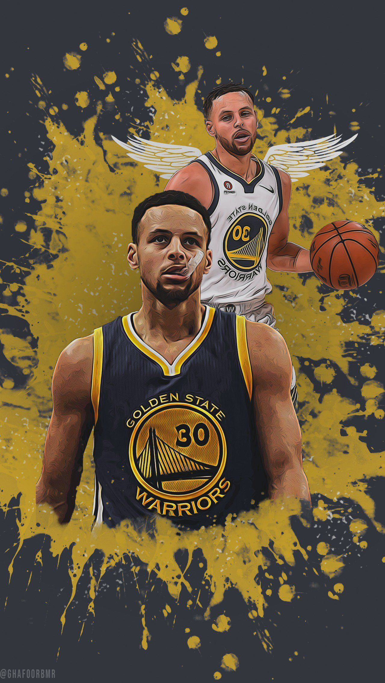 For My Gsw Supporters Out There Warriors Golden State Warriors Wallpaper Basketball Wallpaper Nba Basketball Art