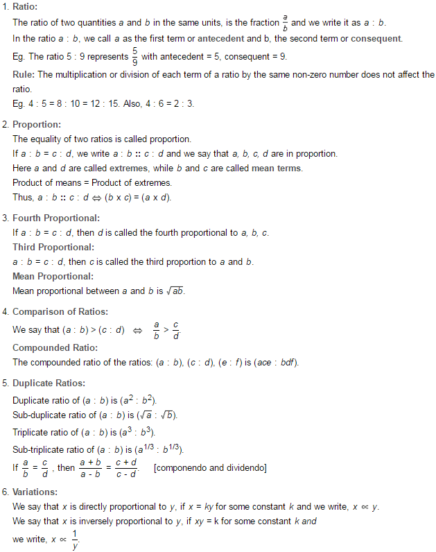 Ratio And Proportion Rs Aggarwal Class 7 Maths Solutions Exercise 8a Ratios And Proportions Maths Solutions Class 6 Maths