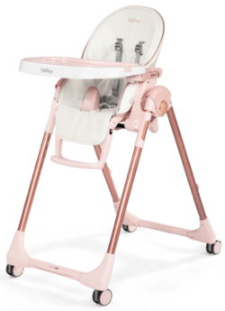Peg Perego Prima Pappa Zero High Chair Mon Amour Rose Gold High