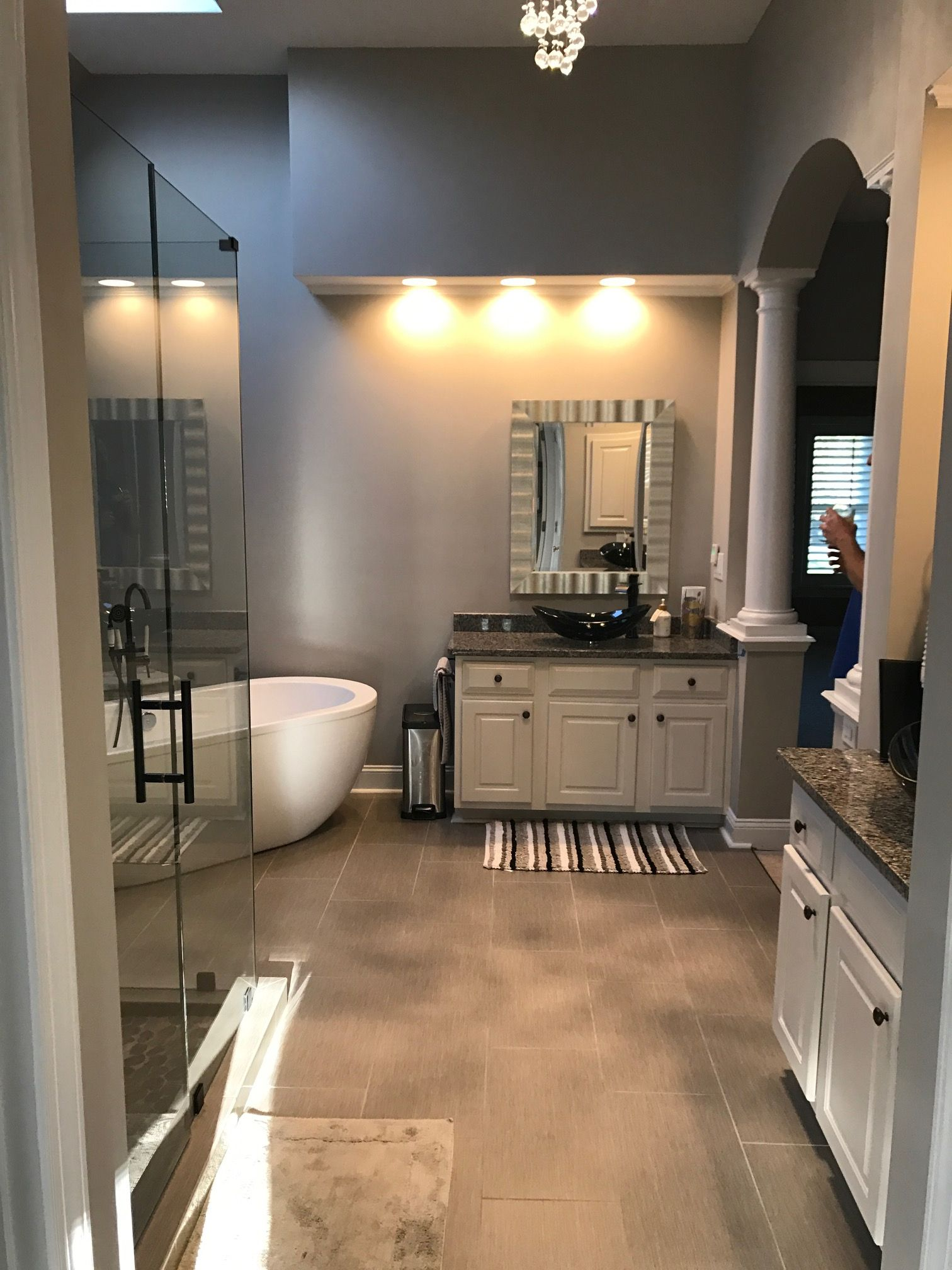 Value Remodelers Of Charlotte Gutted This John Wieland Bathroom And - Charlotte bathroom remodel
