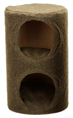 Dallas Manufacturing Co Two Story Cat Condo Brown You Can Get More Details By Clicking On The Image This I Cat Activity Cat Fleas Cat Accessories