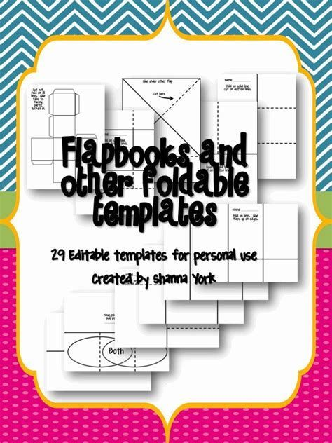 Image result for Foldable Templates for Teaching Vocabulary ...