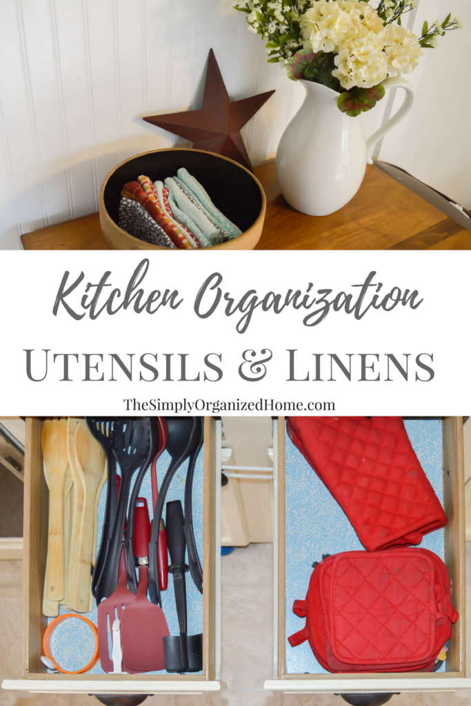 Delightful Kitchen Organization: Utensils And Kitchen Linens Good Ideas