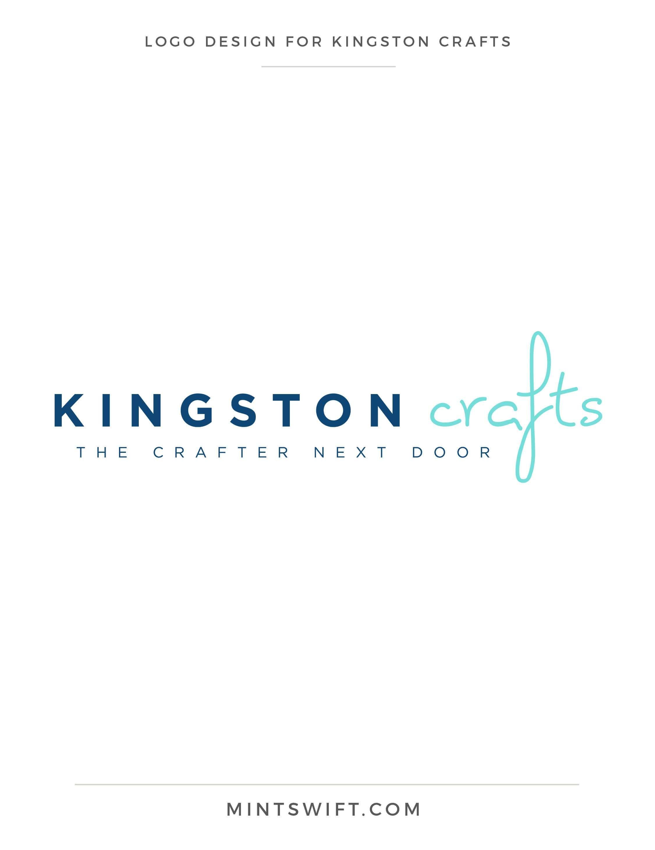 Brand Design for Kingston Crafts | Favicon design, Brand style guide ...