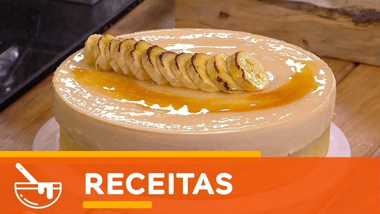 Chefs Em Acao Torta De Banana Caramelizada 15 De Janeiro De