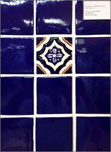 Azul Hand Made Mexican Clay Backsplash Tiles | Backsplash / dosseret ...