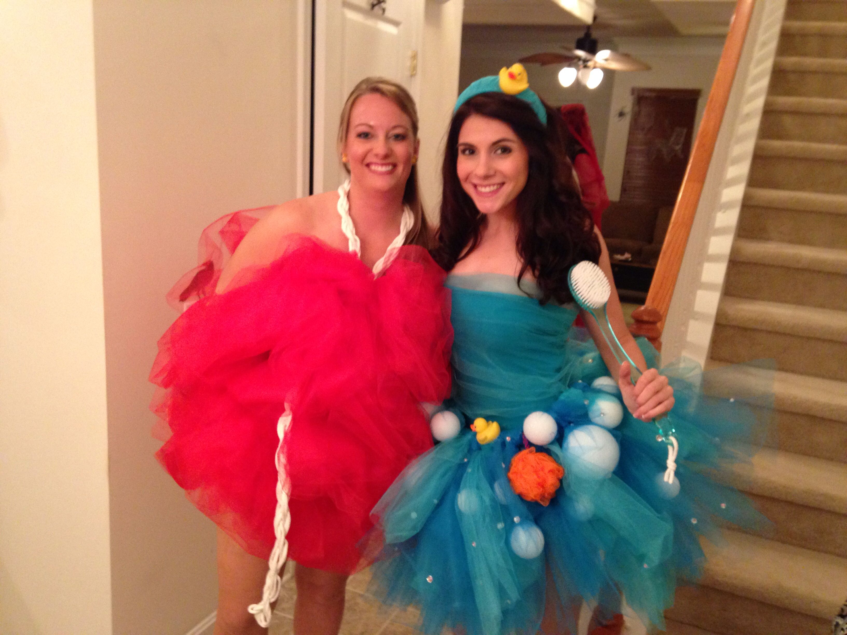 Diy halloween costumes loofa and bubble bath diy diy halloween costumes loofa and bubble bath solutioingenieria Image collections