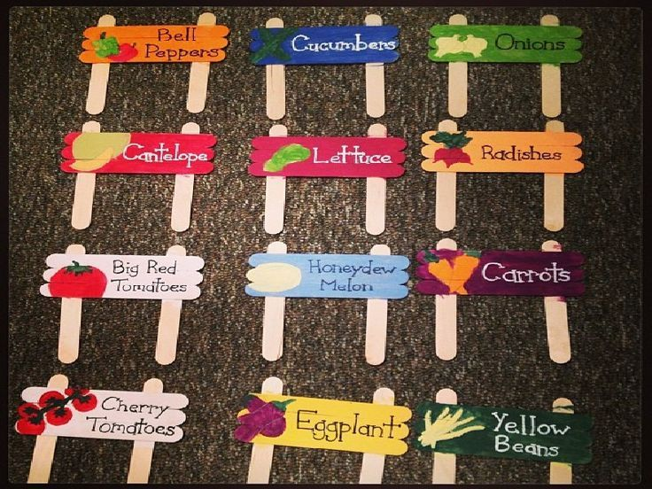 Herb Garden Signs Plant Labels