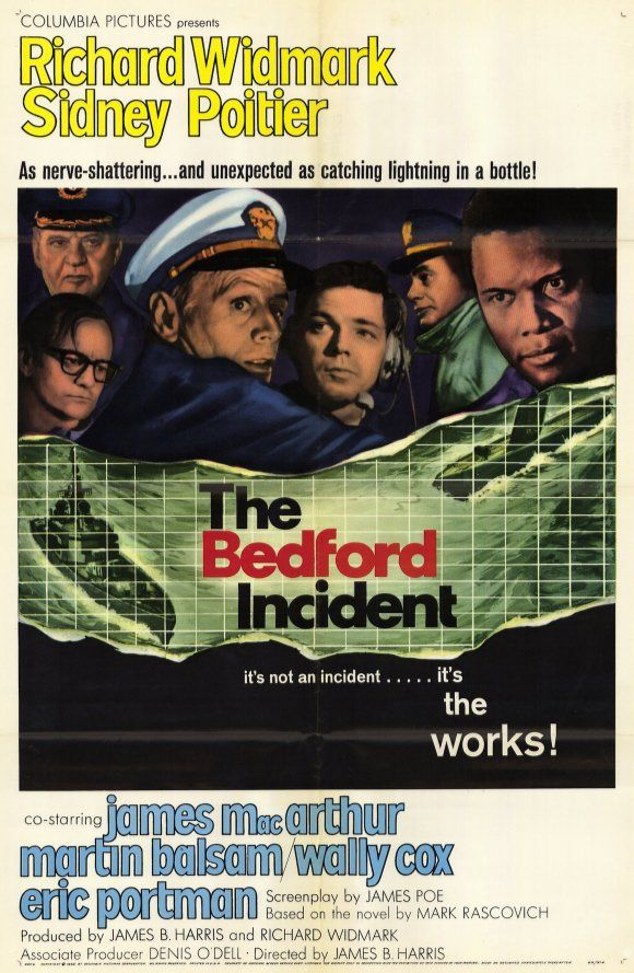 The Bedford Incident Movie Poster The Bedford Movie Posters Old Movie Posters