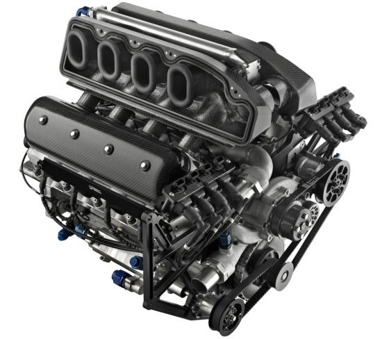 Legend of the LS7 427 7-liter Corvette engine, most powerful
