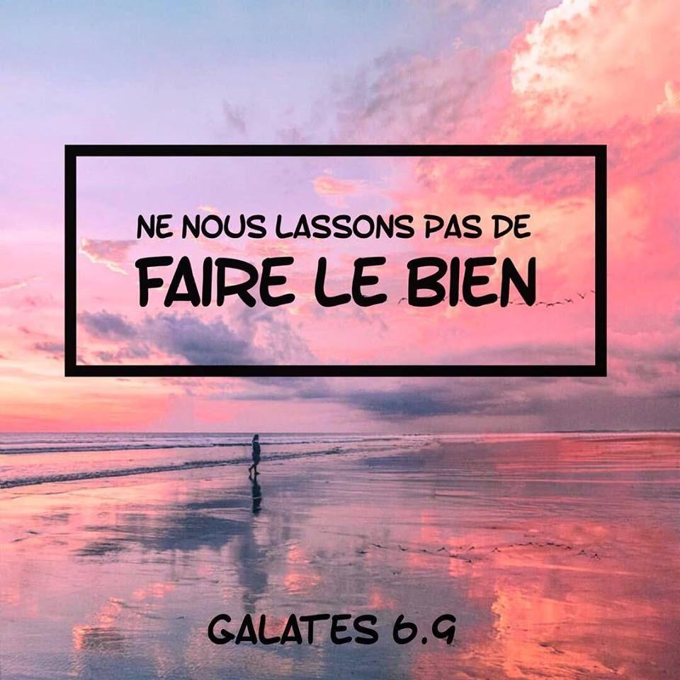 9 » Galates Nous 6 Le Ne Lassons Pas Bien Faire De HIE9WD2