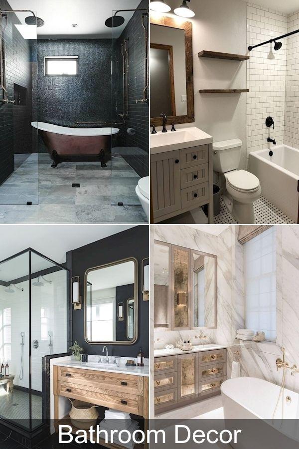 Photo of Bathroom shower set | Bathroom parts | Blue and white striped bathroom …