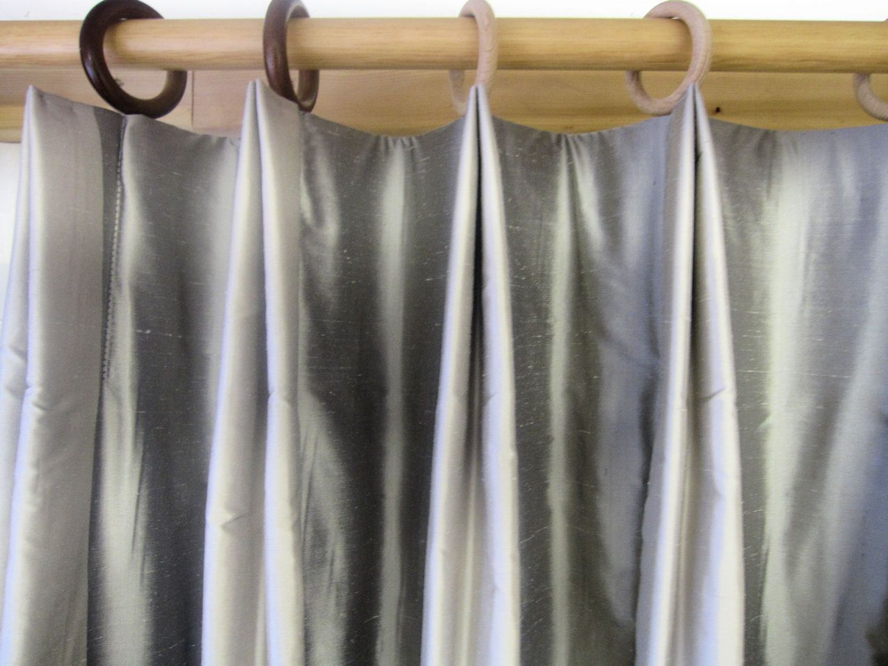 Variation of a double pleat. | Euro, Window and Window coverings for Double Pleated Curtains  70ref