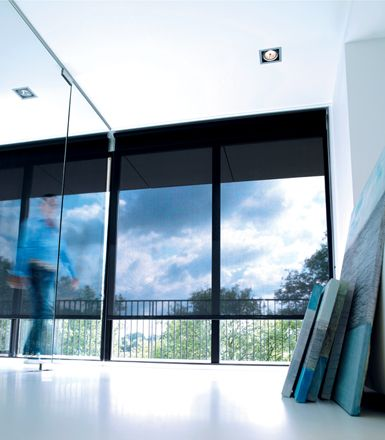 The Shade Store 10 Black Solar Shades For Sliding Glass Door