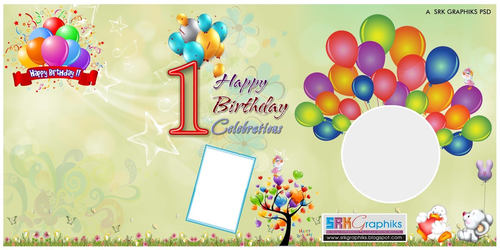 Birthday Banner Design Photoshop Template For Free Birthday