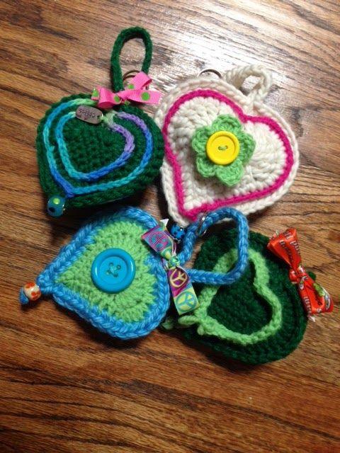 José Crochet: Free crochet pattern heart ♥ | ••◘◘tejido y mas ...