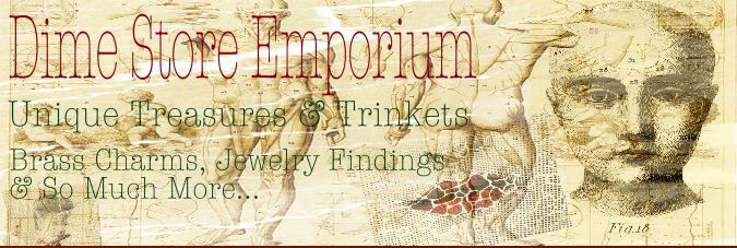 Dime Store Emporium.  Cool, hip, findings for making jewelry