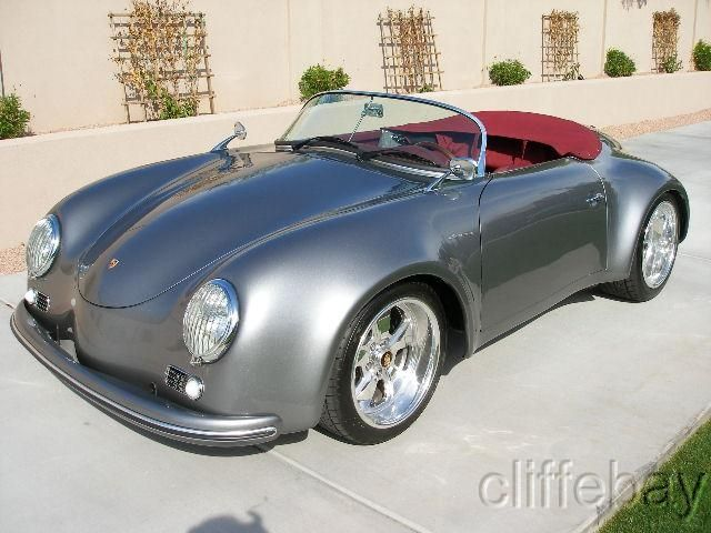 1957 porsche 356 speedster wide body replica art on. Black Bedroom Furniture Sets. Home Design Ideas