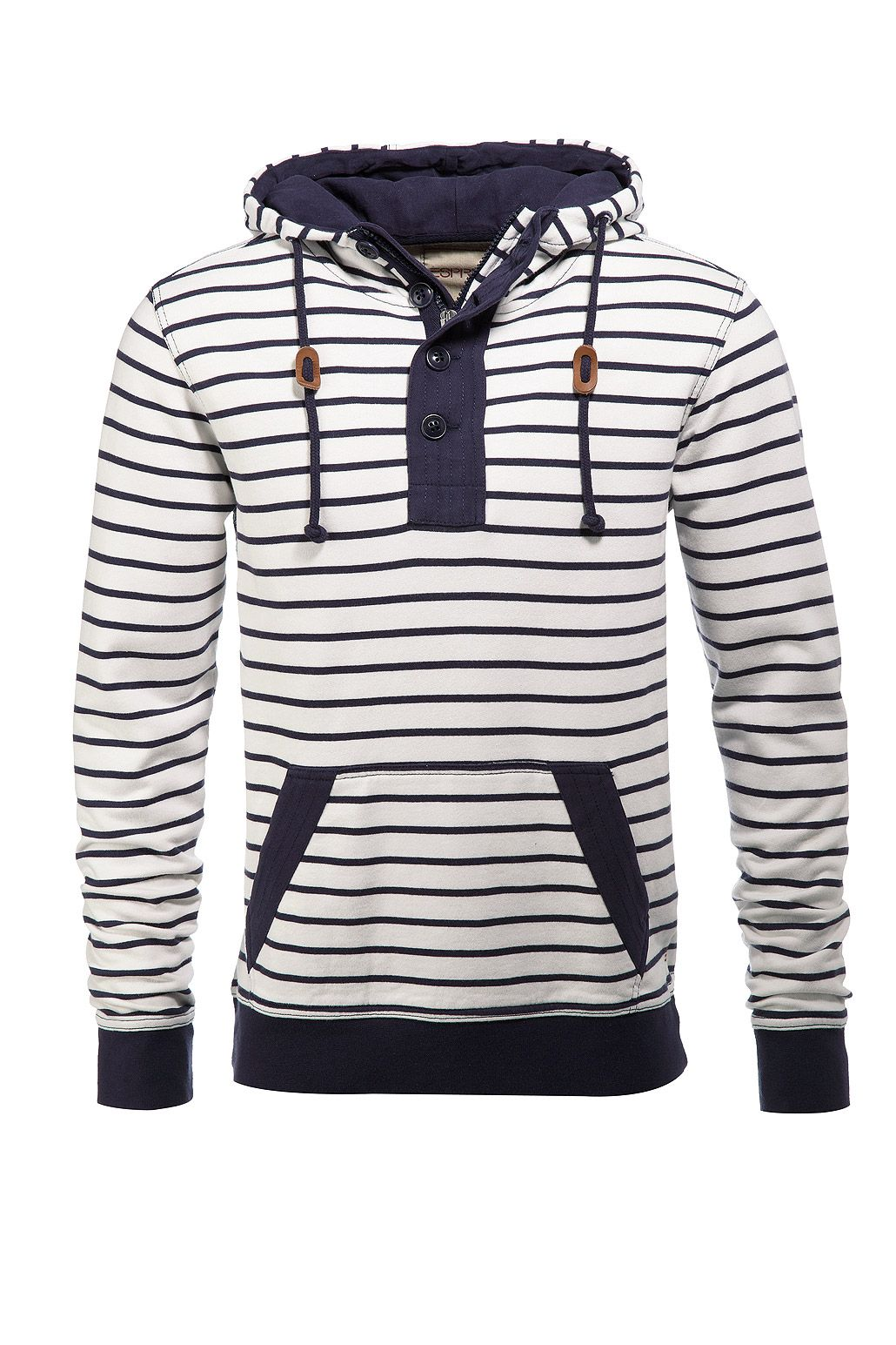 f13d6ad1f5 Esprit Black White Striped Hoodie Online Shop Kleidung