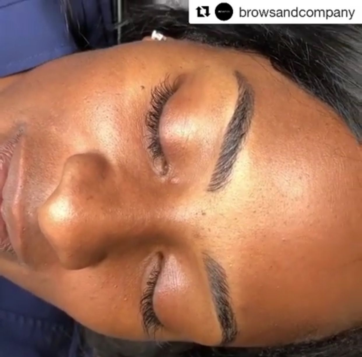 When you see brows like these in your Instagram feed