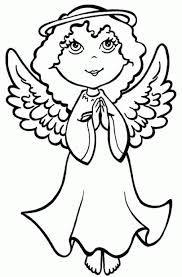 Resultado De Imagen Para Angelitos Imagenes De Angeles Paginas Para Colorear De Navidad Dibujo De Navidad