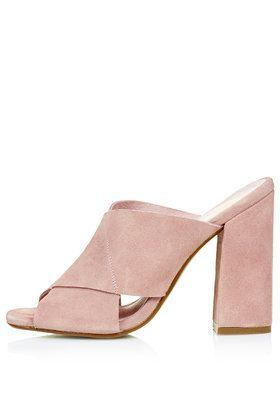 218f960a5cc GRAND Suede Mules   B l u s h   Shoes, Fashion, Backless shoes